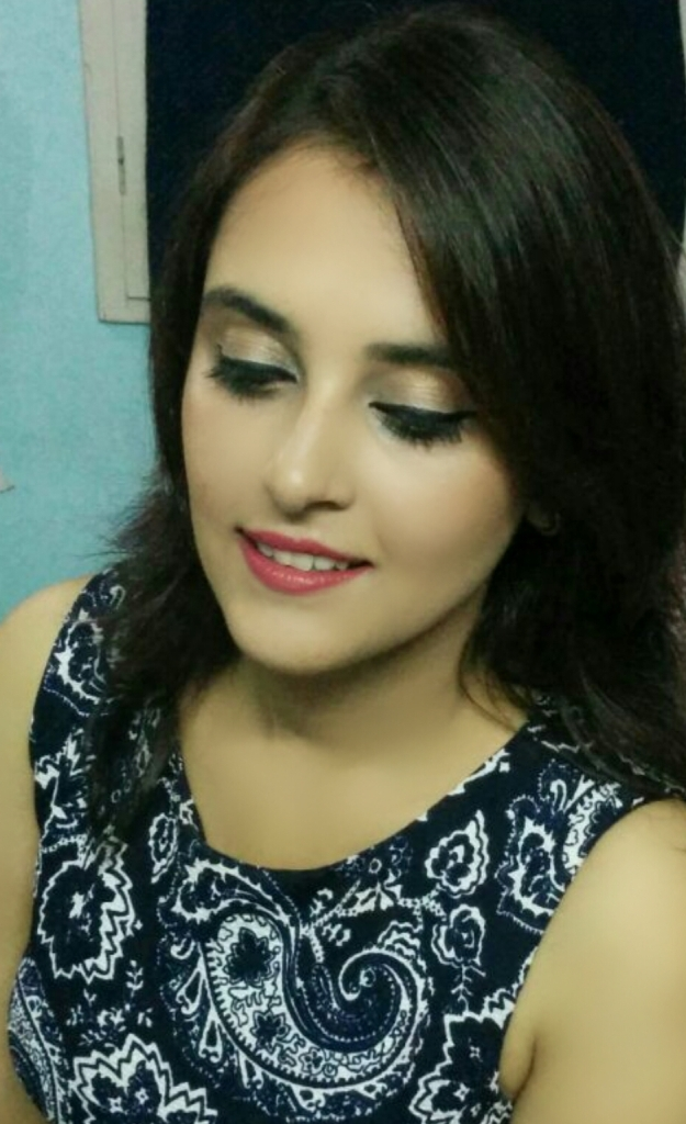 makeup look for indian girls